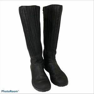 MERRELL VERA PEAK BLACK TALL BOOTS 7
